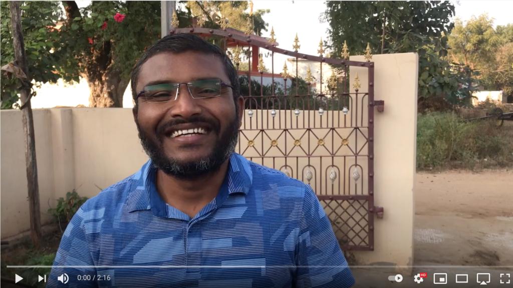Mr. Ramesh besuchte Kummarigudem und sprach mit vielen Dörflern, hier spricht er mit uns über seine Eindrücke...