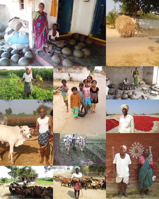 Bilder aus dem Dorf
