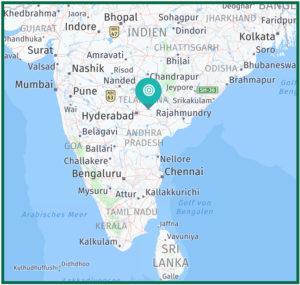 Das Dorf Kummarigudem/Mallikudurla gehört zum Distrikt Warangal in Telangana